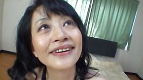 Old, Asian, Asian Granny, Asian Mature, Bed, Bitch