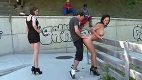 Jaime Hammer, Bend Over, Blowjob, Brunette, Caning, Doggystyle