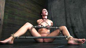 Basement, Basement, BDSM, Bound, Brunette, Fucking