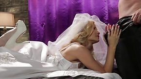 Bride, Bed, Blonde, Blowjob, Boots, Bride