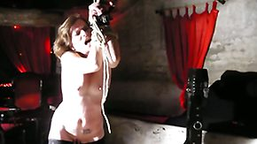 Dungeon, BDSM, Bondage, Bound, Brunette, Hardcore