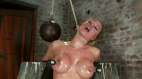Bondage, Babe, Blonde, Blowjob, Bondage, Boobs