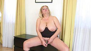 Saggy Tits, BBW, Big Tits, Blonde, Boobs, Chubby