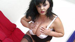 Mature, Big Tits, Boobs, Brunette, Granny Big Tits, Horny