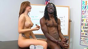 Pressley Carter, Big Ass, Big Cock, Classroom, Coed, College