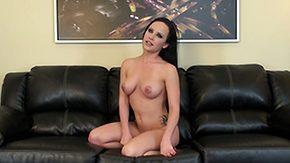 Katie St. Ives, Boobs, Masturbation, Panties, Posing, Sofa