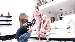 Matures, Backstage, Behind The Scenes, Blonde, Blowjob, Cum
