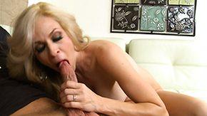 Angela Attison, Ball Licking, Big Cock, Big Tits, Blonde, Blowjob