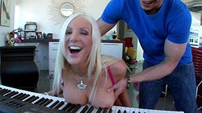 Piano, Anal Finger, Ass, Big Ass, Big Cock, Big Tits