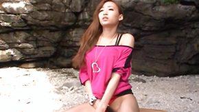 Beach Sex, Asian, Babe, Beach, Beach Sex, Beaver