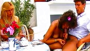 Vintage Blowjob, 3some, Babe, Blonde, Blowjob, Brunette