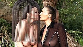 Cage, American, Big Natural Tits, Big Pussy, Big Tits, Bondage