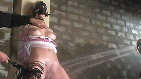 Annette Schwarz, Basement, BDSM, Big Tits, Blindfolded, Blonde