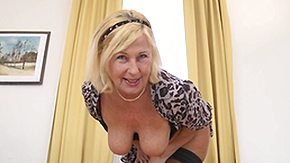 Saggy, Blonde, Horny, Mature, Naughty, Old