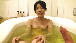 Bath, Asian, Bath, Bathing, Bathroom, Masturbation