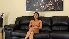 Asa Akira, Asian, Brunette, Cute, Masturbation, Nude
