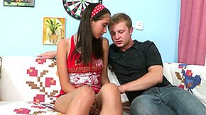 Lady, 18 19 Teens, Amateur, Barely Legal, Brunette, Cum