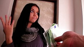 Money Talks, Brunette, Car, Cash, Czech, Money