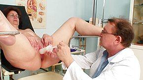 Gynecologist, BBW, Brunette, Chubby, Chunky, Clinic