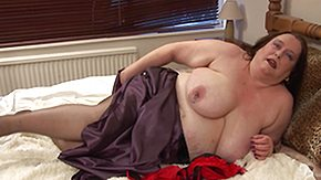 Young Chubby, BBW, Bed, Big Pussy, Big Tits, Boobs