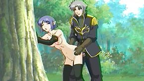 Forest, Anime, Blowjob, Cowgirl, Forest, Hentai