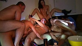 Hot Orgy, Babe, Blonde, Blowjob, Brunette, Coed