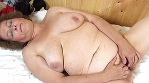 Old Ladies, BBW, Boobs, Brunette, Chubby, Chunky