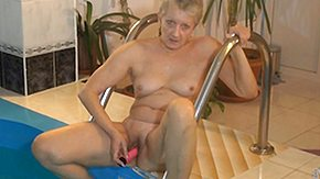 Babysitter, Babysitter, Blonde, Dildo, Experienced, Grandma