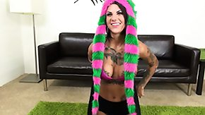 Bonnie Rotten, Big Tits, Boobs, Brunette, Fake Tits, Masturbation