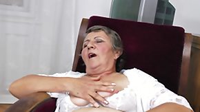 Grandma, European, Experienced, Fingering, Grandma, Grandmother