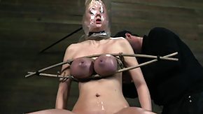 Tied Up, BDSM, Big Tits, Blindfolded, Blonde, Boobs