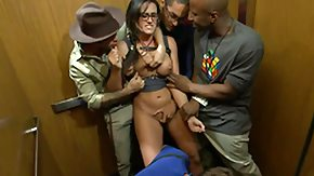 Orgy, Babe, Banging, Brunette, Choking, Costume
