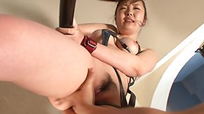 Uncensored, Asian, Asian Mature, Bound, Brunette, Female Ejaculation