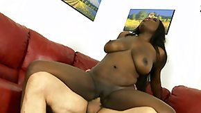 First Interracial, Babe, Black, Brunette, Ebony, Fucking