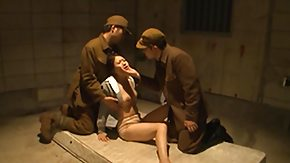 Japanese Mature HD Sex Tube Female Prisoner Embarrassed unconnected with Also pressurize