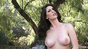 Jungle, Big Tits, Boobs, Brunette, Forest, Hairless