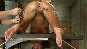 Basement, Basement, BDSM, Bondage, Bound, Brunette