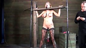 Chained, Babe, BDSM, Big Tits, Blonde, Bondage