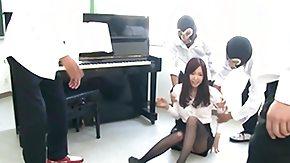 Piano, Asian, Asian Orgy, Asian Swingers, Banging, Brunette