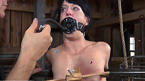 Hanging, BDSM, Bondage, Boobs, Bound, Brunette
