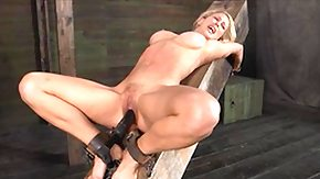Free Ball Kicking HD porn Blonde Beauty Between Pleasure and Soreness