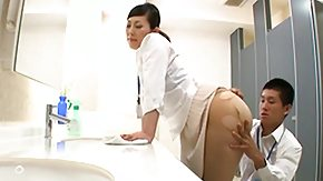 Doctor, Asian, Ass, Blowjob, Clinic, Doctor