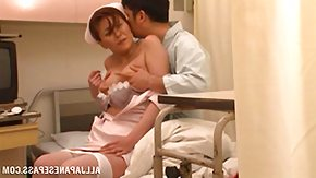 Blowjob, Asian, Blowjob, Brunette, Clinic, Costume