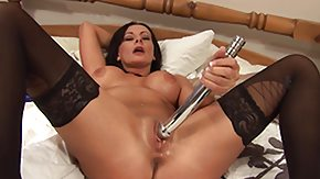 Milf Car, Anal Finger, Anal Toys, Ass, Bed, Big Ass