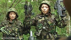 Free Army HD porn Japanese Young lady Jemmy Privates are Captured