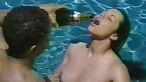 Vintage Interracial, Antique, Blowjob, Brunette, Champagne, Classic