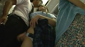 Bus Asian, Asian, Asian Mature, Brunette, Bus, Handjob