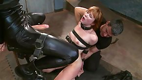 Tied Up, BDSM, Big Cock, Big Tits, Blowjob, Boobs