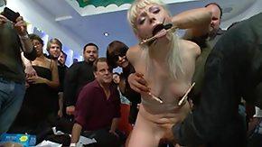Humiliation, Babe, BDSM, Blonde, Choking, Gagging
