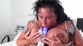 Chubby Mature, BBW, Bed, Big Tits, Boobs, Boots
